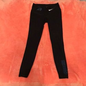 Carolina Panthers Nike Leggings